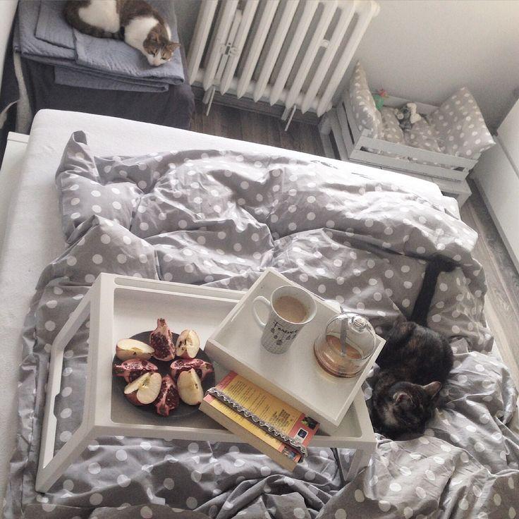 Śniadanie w łożku :)