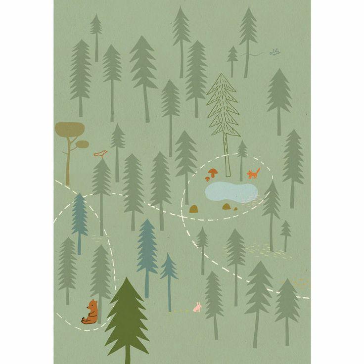 17 meilleures id es propos de sticker motif arbre pour for Deco chambre d enfants