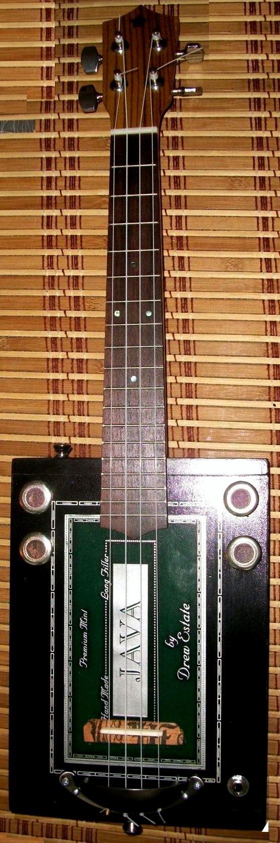 Tramp Guitars Cigar Box Tenor Ukulele --- https://www.pinterest.com/lardyfatboy/