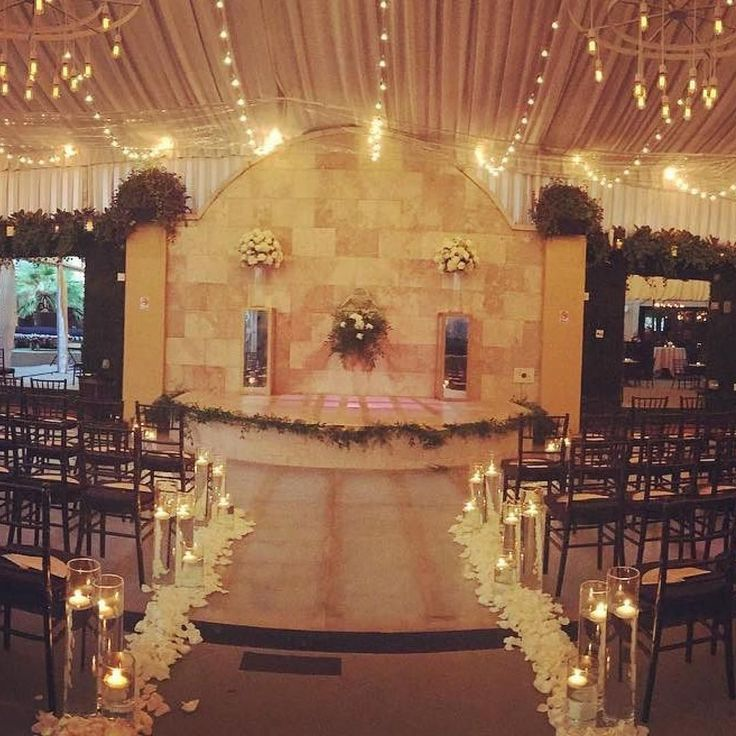 We Re On Over This Ceremony Setup Our Pool Find Pin And More Hotel Zaza Dallas Weddings