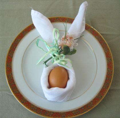 7 Easy Ways To Fold Cute Bunny Napkins for Easter | Petslady.com