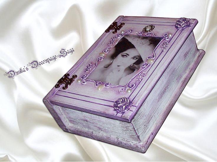 Duska's Decoupage Saga Vintage Box