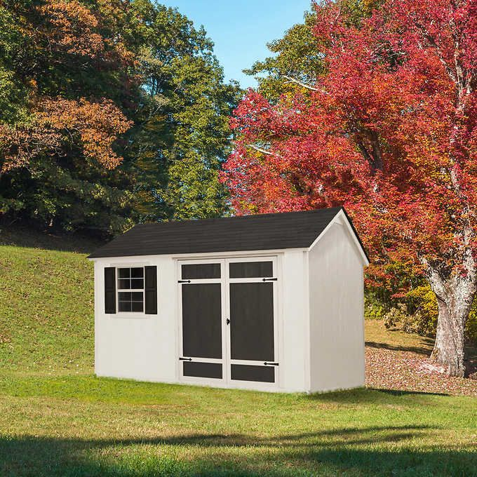 Installed Sheds By Yardline Aberdeen Shed 8 X 12 In 2020 Shed Building Permits Installation