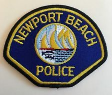 Newport Beach Police Patch