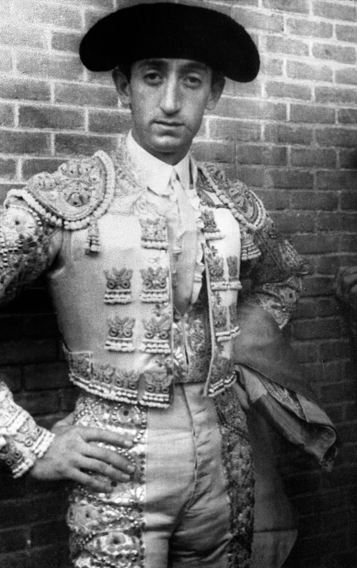 "Manolete is considered by some to be the greatest bullfighter of all time. His style was sober and serious, with few concessions to the gallery, and he excelled at the 'suerte de matar'—the kill.In response to Manolete's death, General Francisco Franco, then dictator of Spain, ordered three days of ""national mourning"", during which only funeral dirges were heard on the radio."