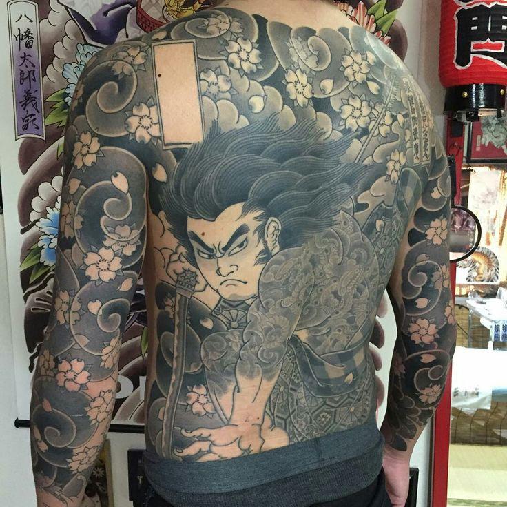 Tattoo done by: @horitadajapan #japan #japantattoo #samurai