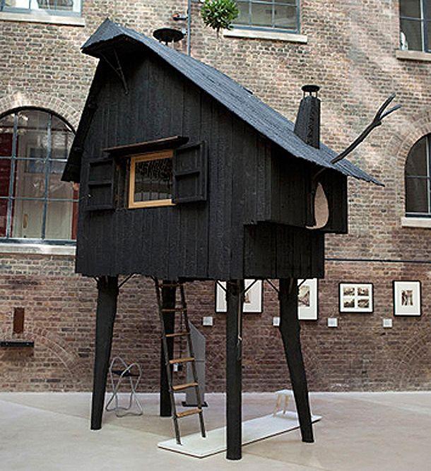 Terunobu Fukimori - Beetle's House (charred Cedar wood)