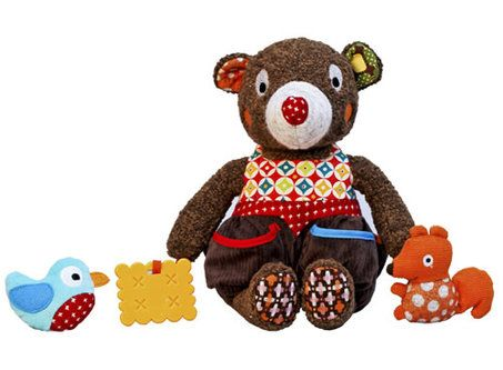 woodours activity bear