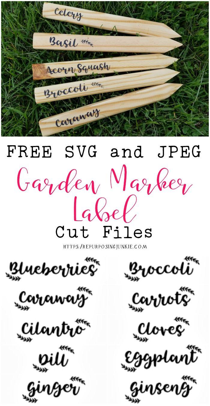 Hand Painted Garden Signs Plant Markers Handmade Garden Etsy In 2021 Garden Labels School Garden Plant Labels