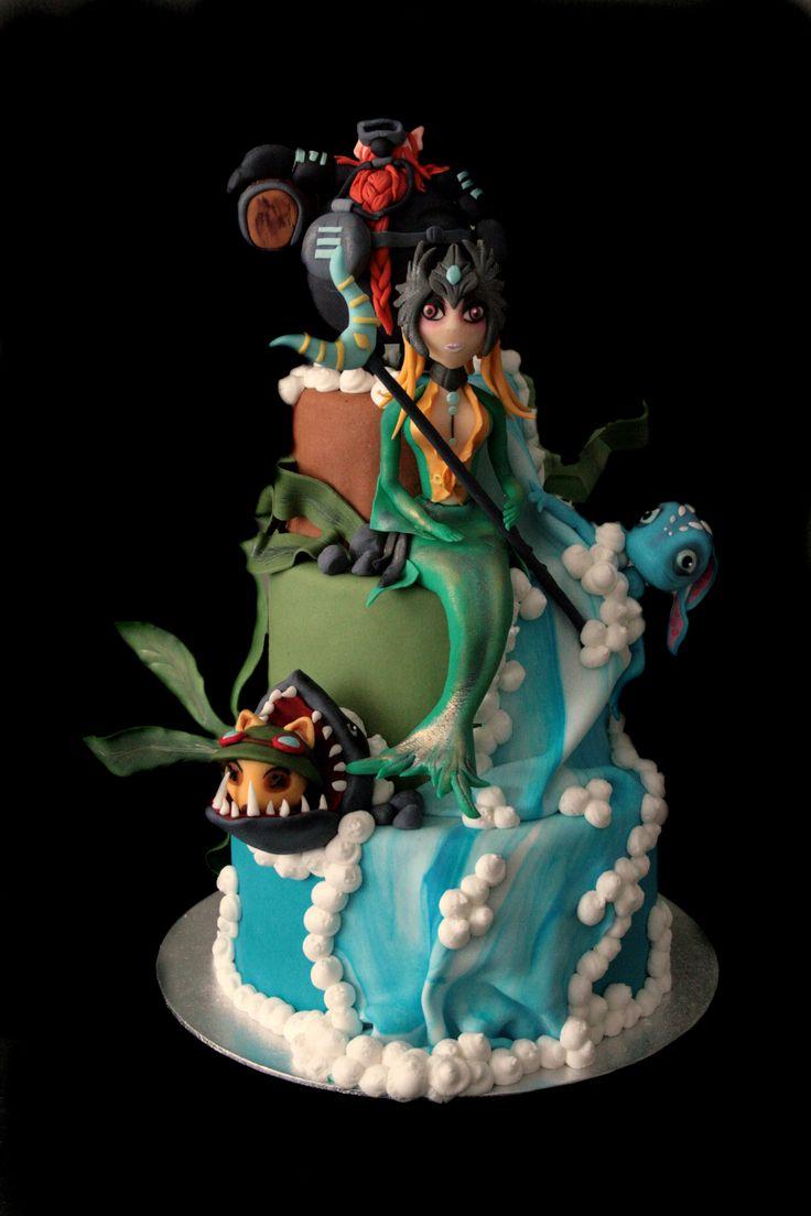 League of legends Cake Gamer Noms Pinterest Legends ...
