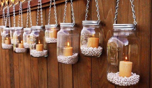 Reciclar frascos de vidrio: Centros de mesa hermosos para fiestas – Ecología Hoy