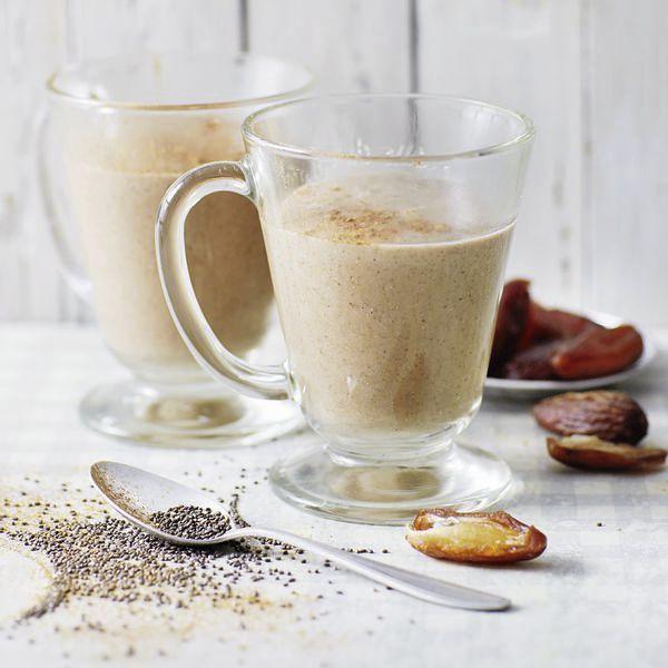 Ein Smoothie, der nicht nur die Seele wärmt. Gesüßt wird mit Datteln, die einen hohen Zuckergehalt haben und sich deshalb prima als gesunde Süße eigne... (Christmas Recipes Beef)