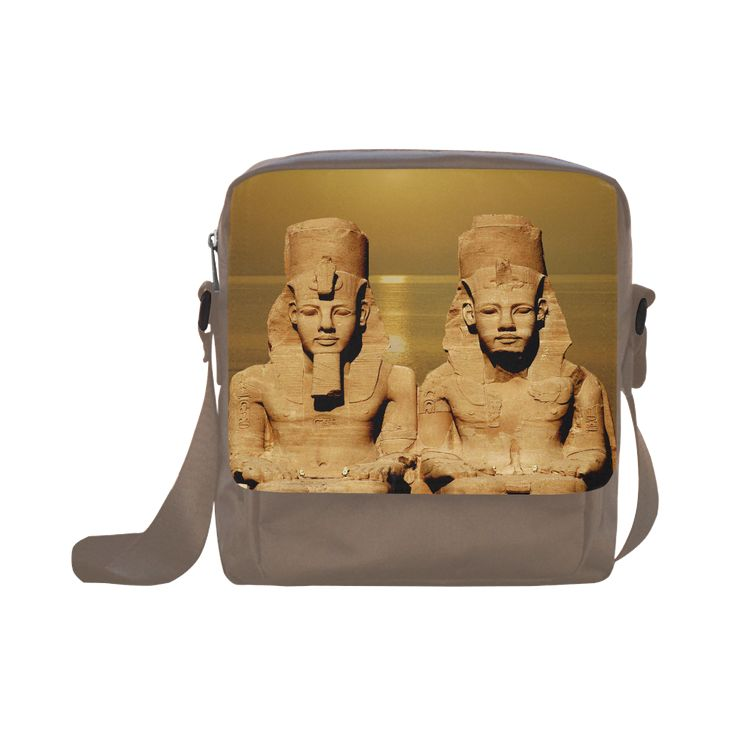 Temple of Sun Crossbody Nylon Bag. FREE Shipping. #artsadd #bags #egypt