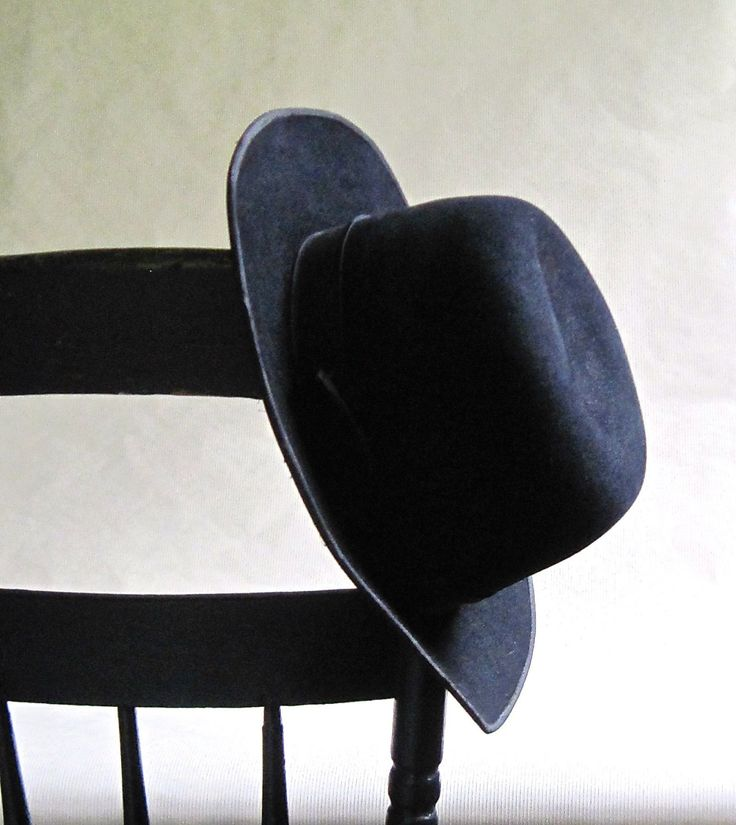 Men's Black Amish Hat, Mennonite Hat, Church Hat, Cowboy Hat, Goth Punk by RushCreekVintage on Etsy