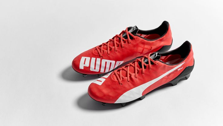 Football Boots Puma evoSPEED SL with Red/White/Black Colors