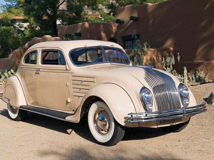 1934 Chrysler Imperial Airflow CV Zweitürer Coupé   – classic cars