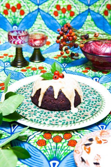 Cannellini Bean Christmas Pudding #glutenfree #grainfree