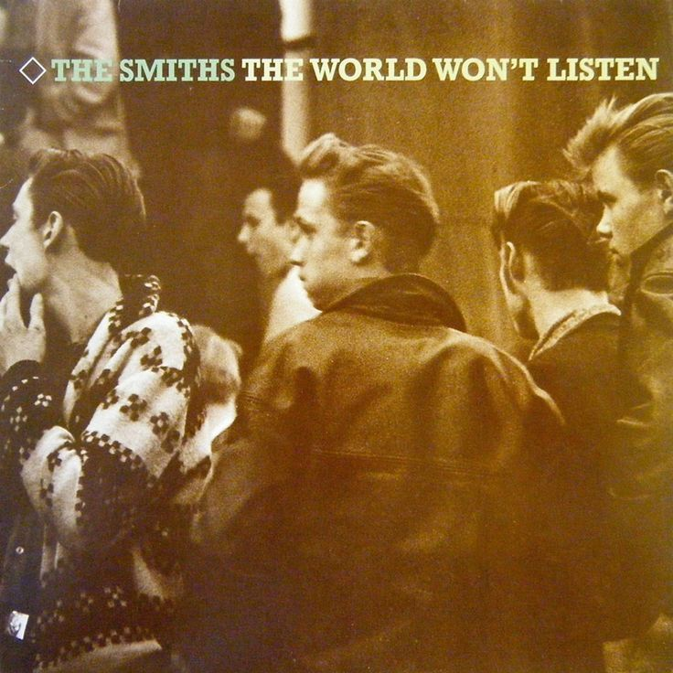 The Smiths-The World Won't Listen-1986 (953×953)