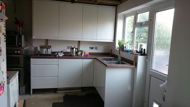 Worktops fitted end September