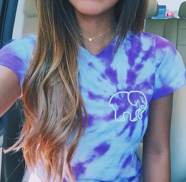 purple and white tie dye from ivory ella :) to cute!!