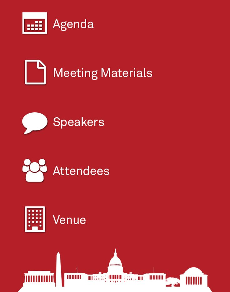 One of the best designs for medical meeting app home screen in EventPilot conference app #eventtech #eventprofs #events