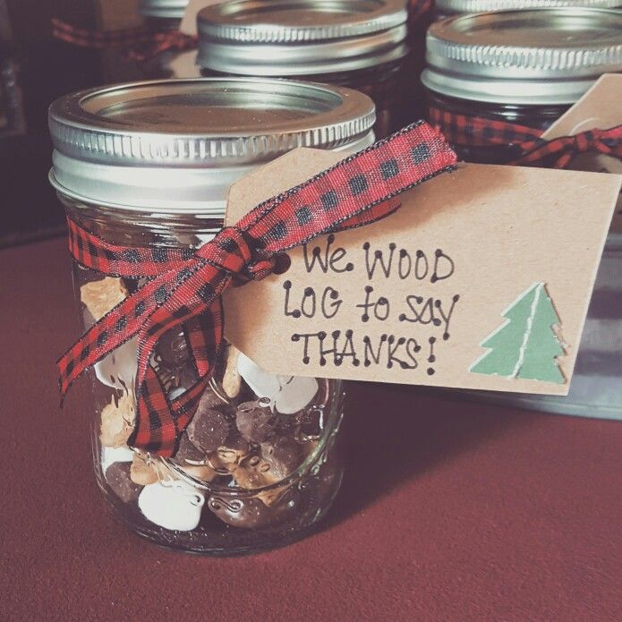 Little Lumberjack first birthday favors