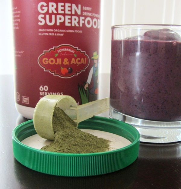 Amazing Grass Green Superfood - Berry (Goji & Acai)- read later