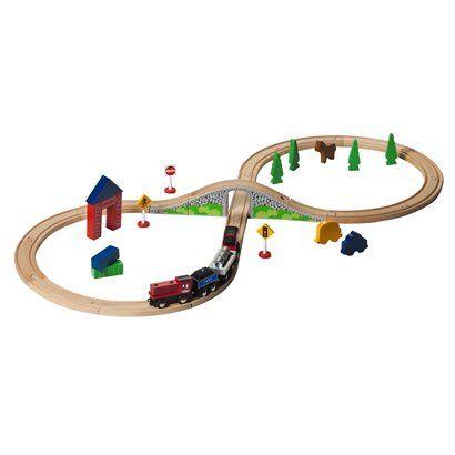 Circo Wood Train Starter Set Model Train Displays In New