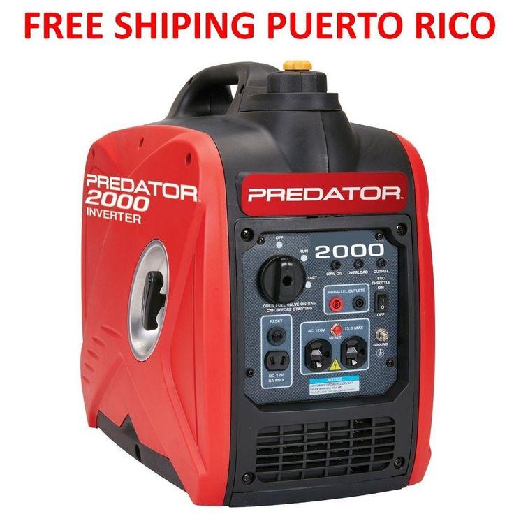 Brand New Predator 2000W Quiet Portable Generator Free ShippingPuerto Rico