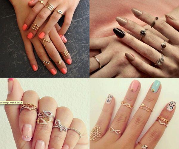 Knuckle Rings, gli anelli che fanno impazzire le star! Scopri il modello che rispecchia il tuo stile >> http://www.youglamour.it/knuckle-rings-gli-anelli-che-fanno-impazzire-le-star/