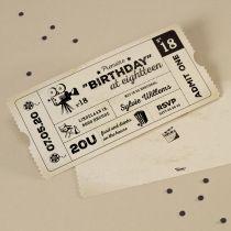 Uitnodigingen | Tadaaz #verjaardag #birthday #uitnodiging #feestje #ticket #film #themafeest #origineel