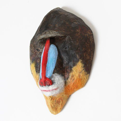 Image of MANDRILL - Paper Mâché Head