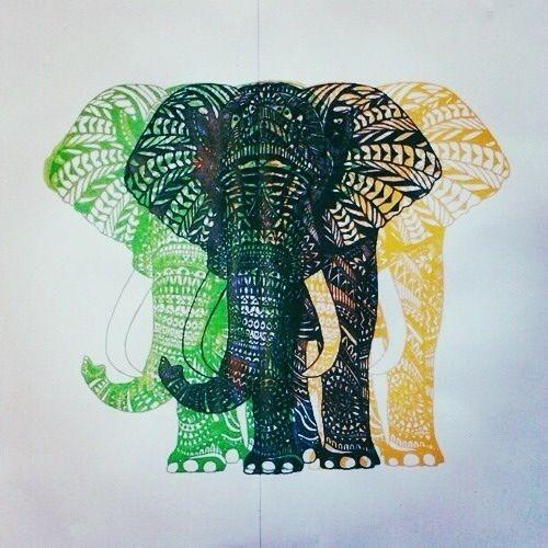buddha elephant wallpaper art - photo #33