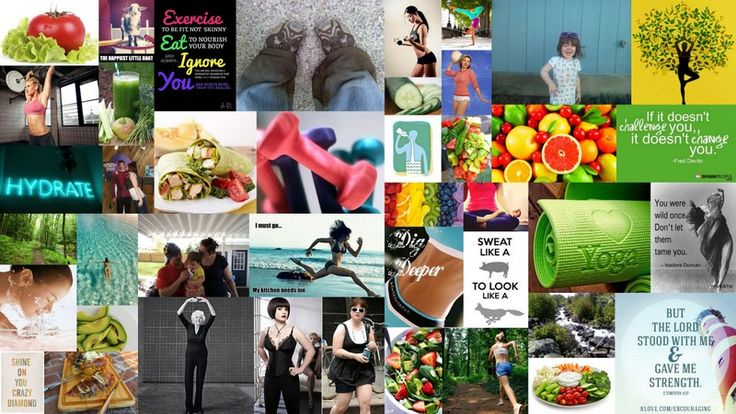 Inspiration Boards-Use Picasa to create collage