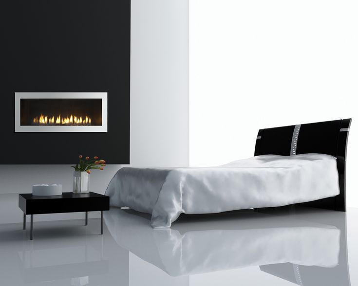 This is a Cosmo by Heat & Glo.  This fireplace is perfect in a master bedroom.
