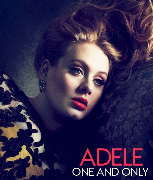 So proud that my girl Adele was on the cover of Vogue! Love her hair and her style<3