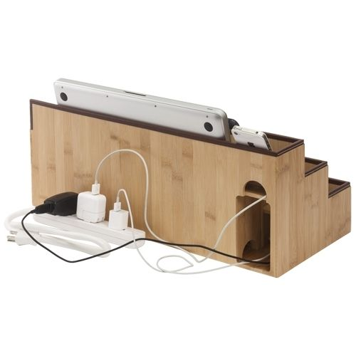 Cool One Stop Desktop Charging Station And Organizer With Desk Stations