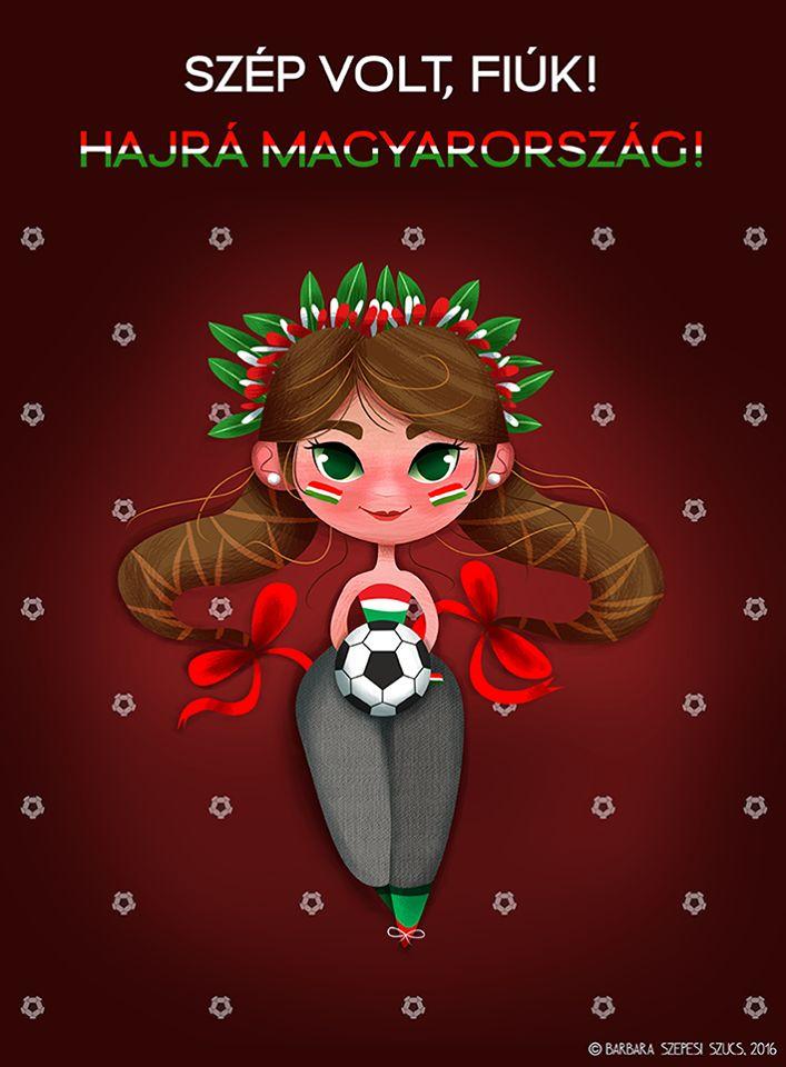2016. Hajrá magyarok! Barbara Szepesi Szucs Illustration