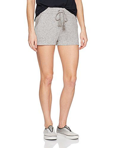 Jersey shorts with soft viscose polyester elastane (215 gram/M2), easy fit, elasticated waistband with draw cord, side slant pockets and back patch pockets.  http://darrenblogs.com/us/2018/02/12/roxy-womens-cozy-chill-short/