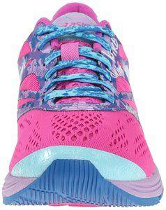ASICS Women's Gel-Noosa TRI 10 Running Shoe, Pink Glow/Aqua Splash/Fuchsia, 8.5 M US
