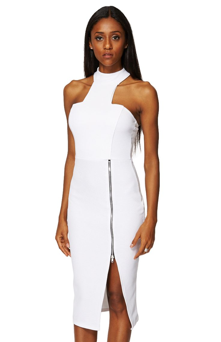 ScottyDirect - High Neck Zip Detail Bodycon, $69.95 (http://www.scottydirect.com/high-neck-zip-detail-bodycon/)