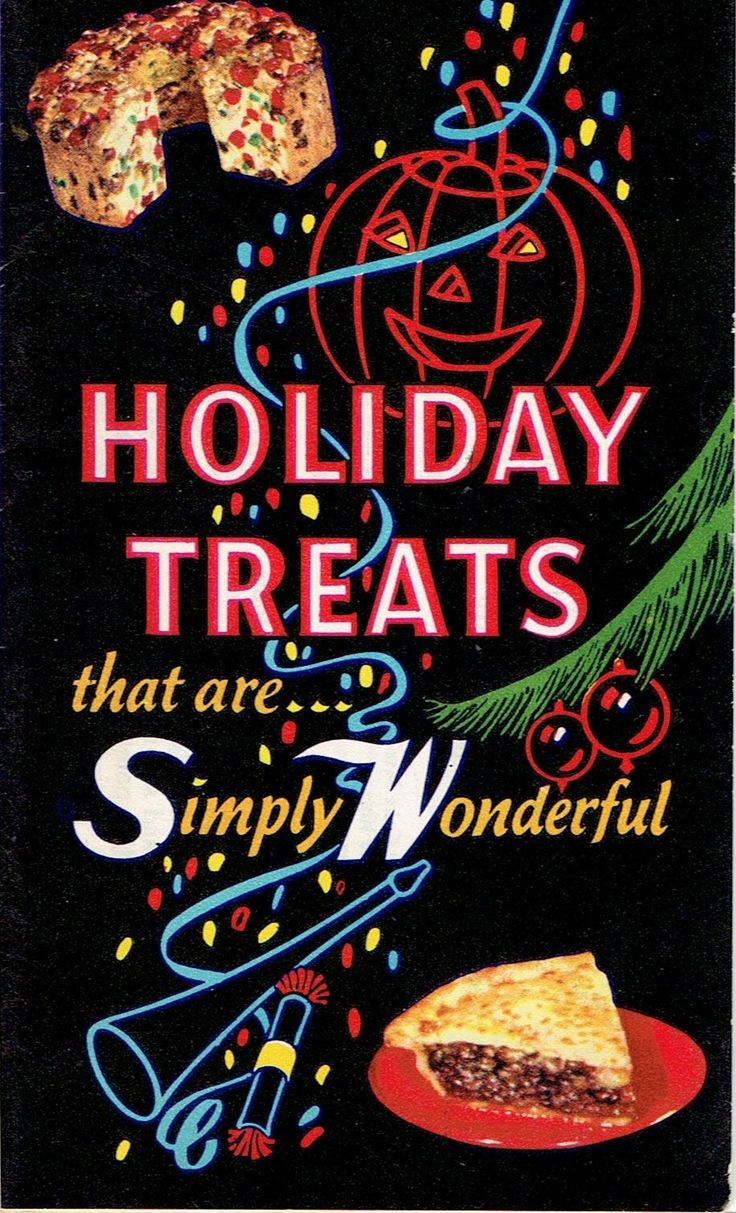 Holiday Treats That Are Simply Wonderful, S And W, C. Late 1950u0027s