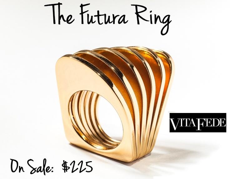 The Futura Ring by Vita Fede