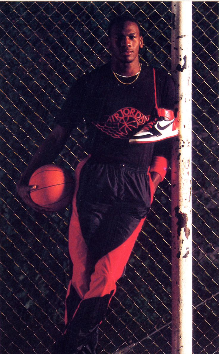 "Michael Jordan Mid 80s Nike Air Jordan Promo Shot // Jordan Brand Announces the Return of the Air Jordan 1 Retro High ""Banned"" - EU Kicks: Sneaker Magazine"