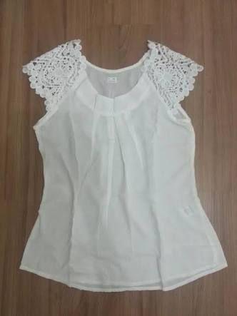Resultado de imagen de modelo de blusa de cambraia