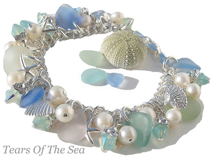 ~ Coastal Queen Sea Glass Bracelet ~