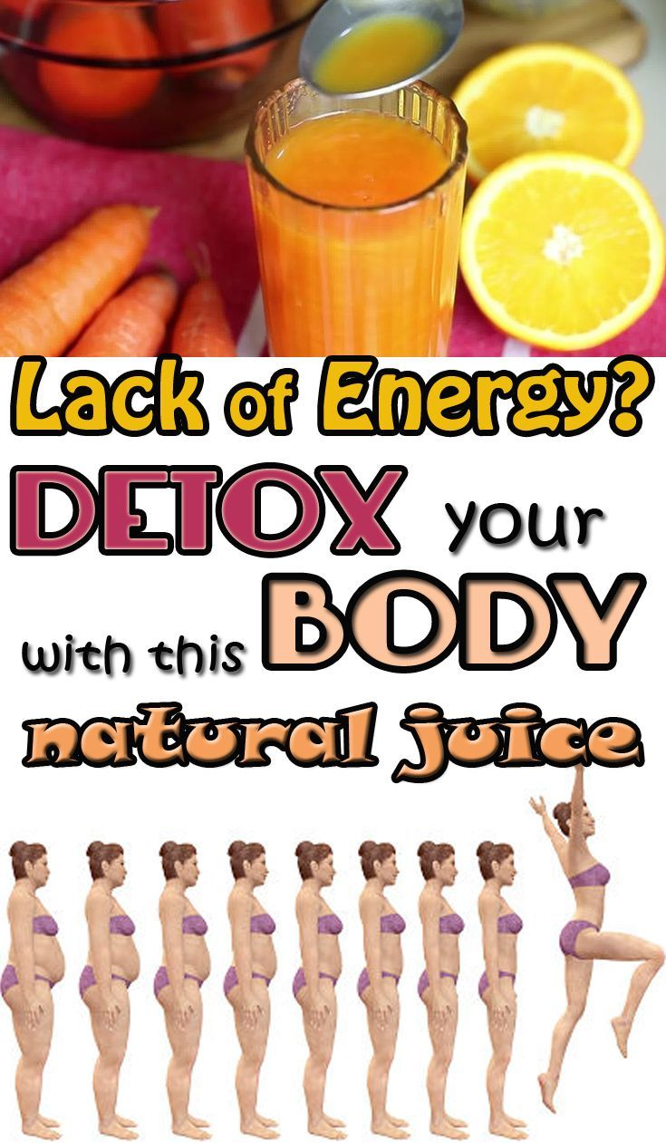 Lack of energy? Detox your body with this natural juice - My Beauty Tips For You