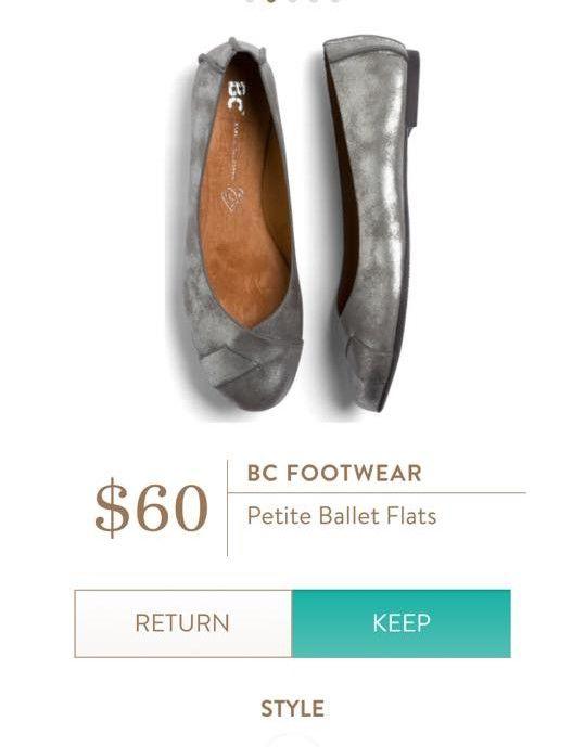 BC FOOTWEAR Petite Ballet Flats from Stitch Fix.  https://www.stitchfix.com/referral/4292370