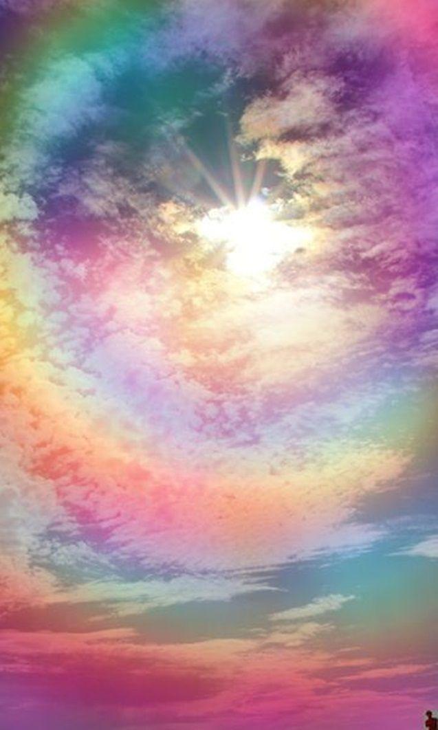 inspiração arco iris