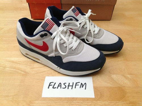 Nike Air Max 1 USA edition (Original Mesh) UK9.5 - White Varsity